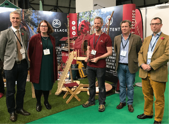 Tree Tents International is innovation award winner at the Farm Business Innovation Show