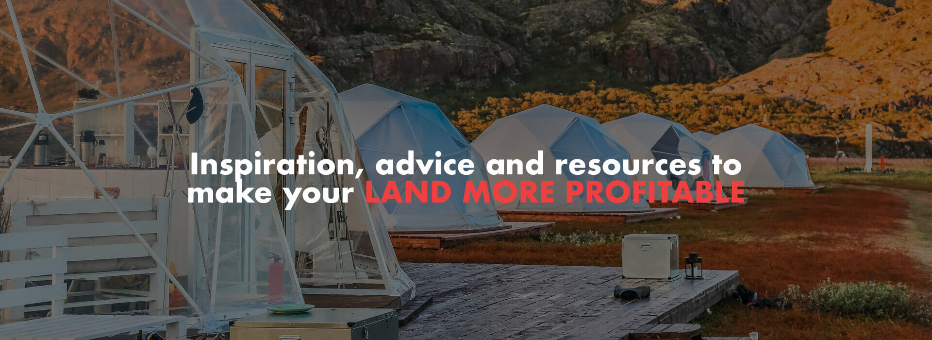 At the Farm Business Innovation Show you will find insipiration, advice and resources to make your land more profitable.