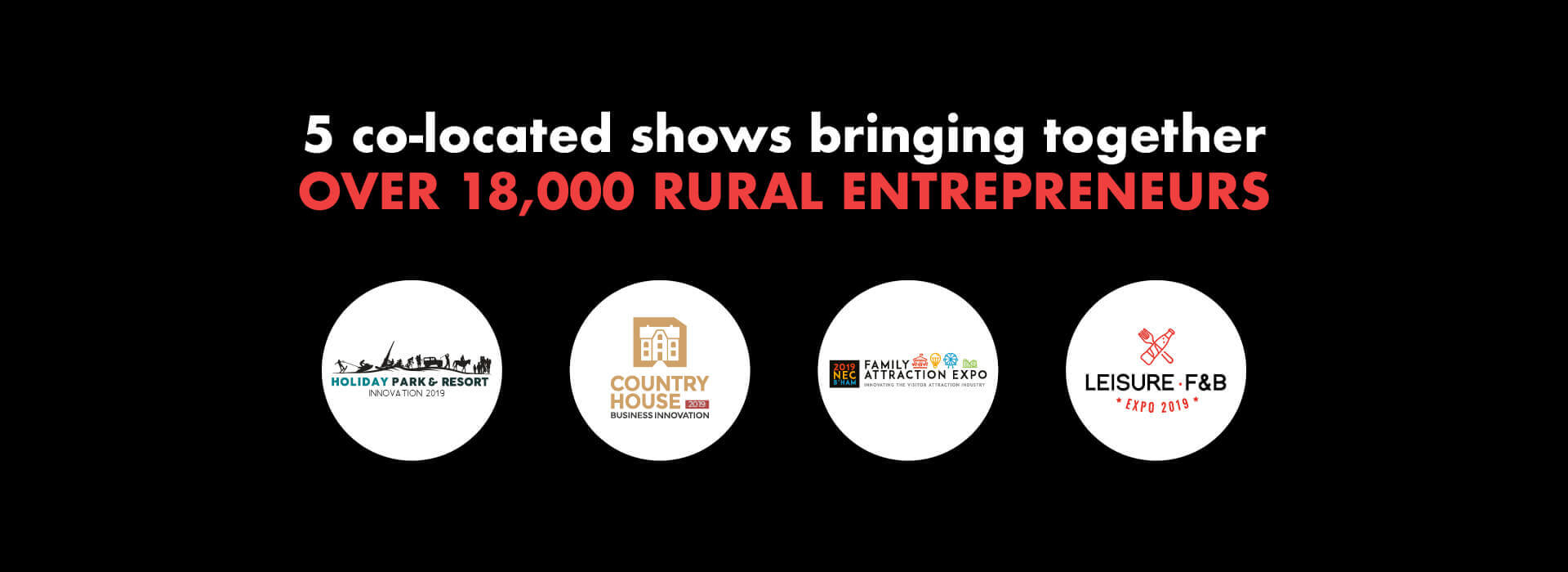 The Farm Business Innovation Show attended by over 18,000 rural entrepreneurs!