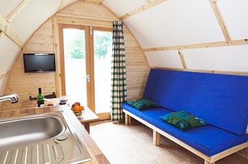 The Farm Business Innovation Show : Wigwam® Holidays Glamping Site With Cycling Business