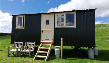 The Farm Business Innovation Show : Diversification Story: Creeside Escape's Shepherd Hut