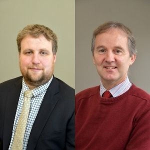 Andrew Gillett and Roger Tetlow: Speaking at the Farm Business Innovation Show